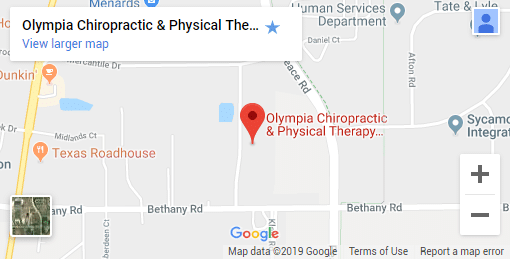 Sycamore IL Chiropractic Map